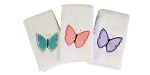 Butterflies Set of 3 Burp Cloths