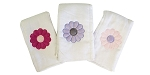 Daisies 3 Piece Burp Cloth Set