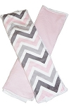 Chevron Mary Burp Cloth Set of 2
