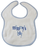 Mommy's Boy Feeder Bib