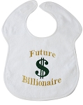 Future Billionaire Feeder Bib