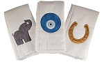 Good Luck Set of 3 Burp Cloths
