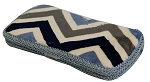 Denim Chevron Hard Wipes Case