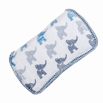 Elephants Blue Hard Wipe Case