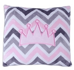 Chevron Mary Crown Pillow