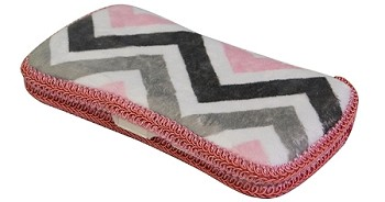 Chevron Mary Hard Wipes Case